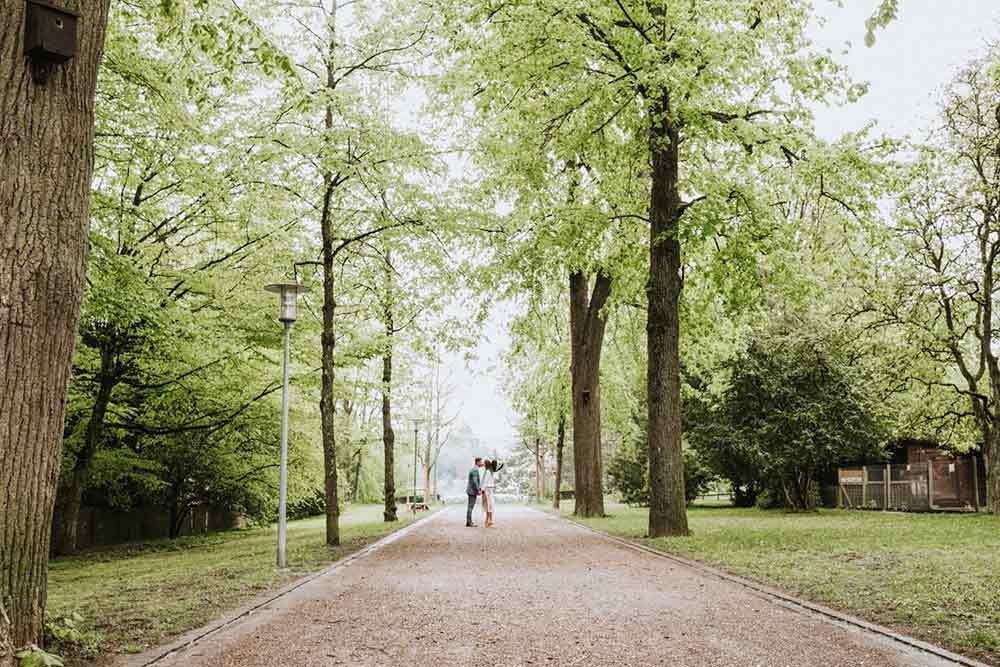 matrimonio civile al parco di milano