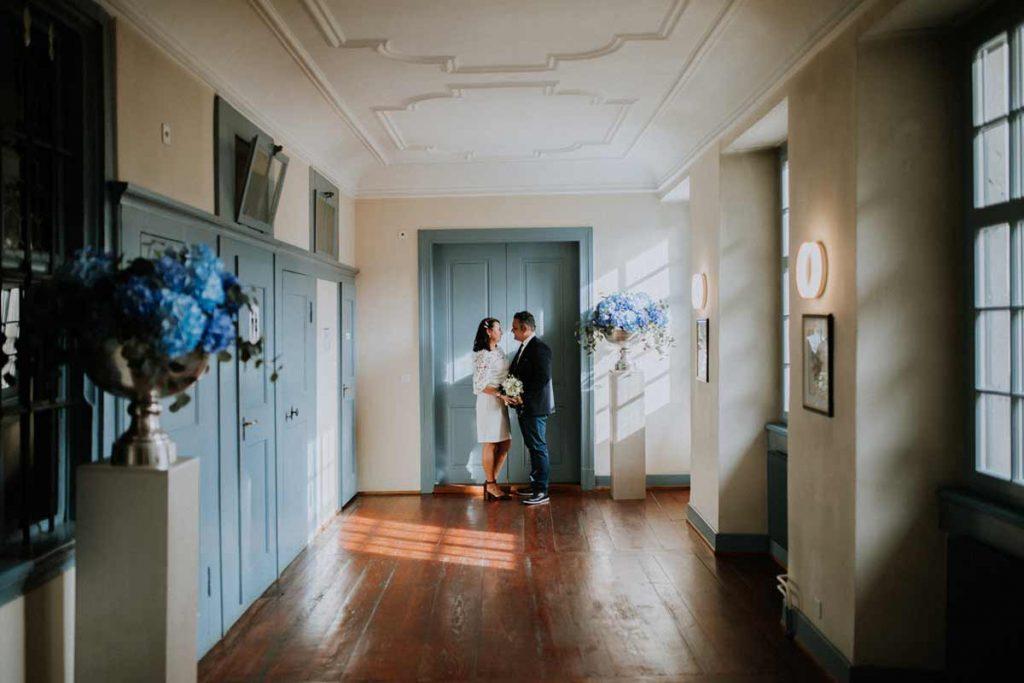 shooting matrimonio in comune