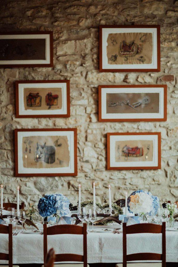 decorazione tavolo luca argentero