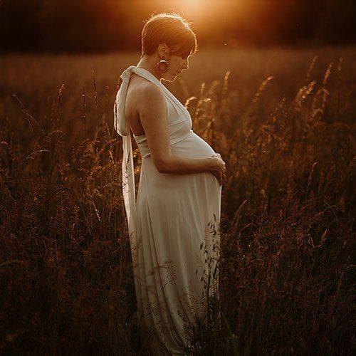 fotografia sposa milano incinta